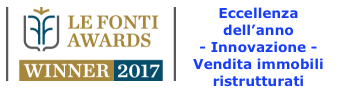 Finalista Premio Le Fonti Awards 2017