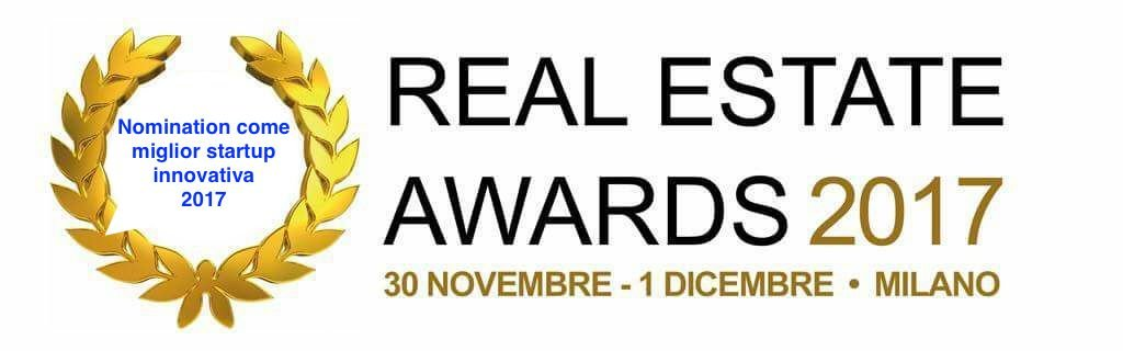 Nomination miglior startup Real Estate Awards 2017