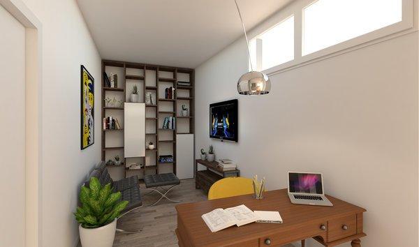 Terza camera - allestita come studio